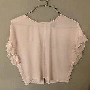 Same as the black one- cute loose fitting blouse
